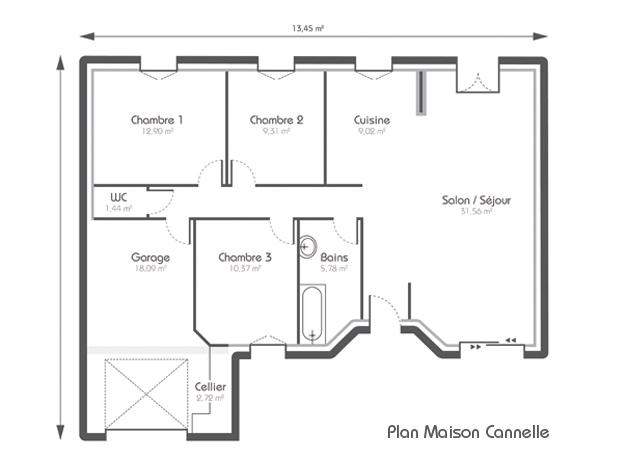 Plan de la maison BBC